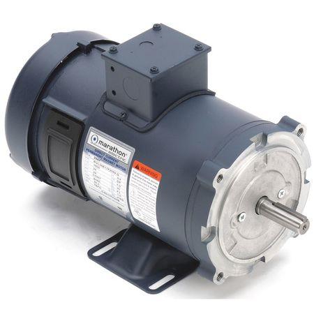 PM DC Motors PM TEFC 3/4HP 1800rpm 24 by USA Marathon DC Permanent Magnet Motors