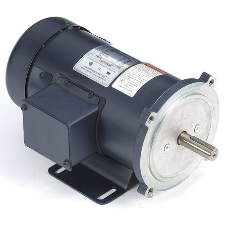 DC Motor 1/2HP 1750rpm 11 7/8 in 56C 90V by USA Marathon DC Permanent Magnet Motors