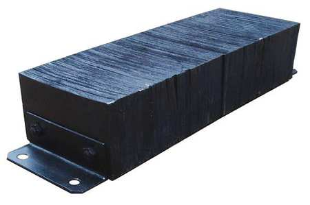 Value Brand Dock Bumper 10x6x32 In. Rubber