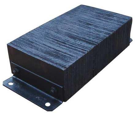 Value Brand Dock Bumper 12x6x26 In. Rubber