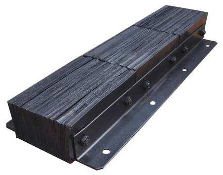 Value Brand Dock Bumper 36x4-1/2x13 In. Rubber