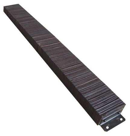 Value Brand Dock Bumper 10x4-1/2x98 In. Rubber