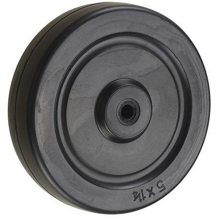 Value Brand Caster Wheel Rubber 5 in. 190 lb.
