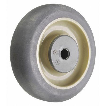 Value Brand Caster Wheel Gray 85 Shore A 3/8 in Bore