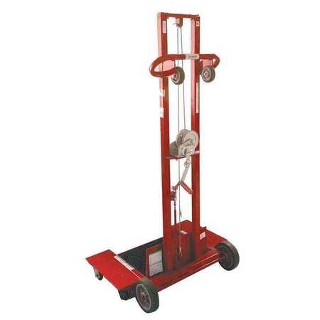 Dayton Pltfrm Lift 500 lb. Cap.69-1/2 In H