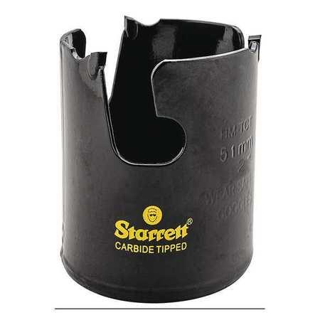 "Starrett 2"" Tungsten Carbide Tipped Hole Saw Multi Purpose Min. Qty 20"