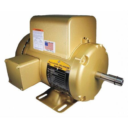Motor 3450rpm 1Phase 56 115/230V 1/2 HP by USA Baldor General Purpose Capacitor Start AC Motors