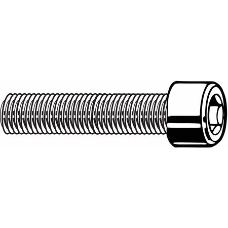 "8-32 X 2/"" Socket Head Cap Screws Allen Drive Stainless Steel Bolt Qty 50"