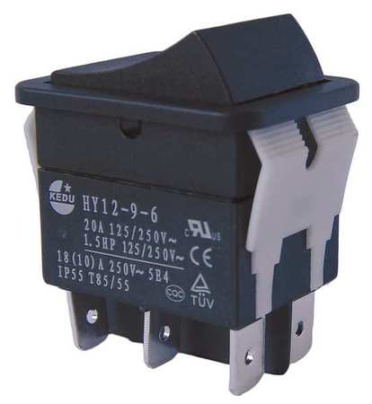 Rocker Switch DPDT 6 Connections Model 29FG33 by USA Power First Electrical Toggle Switches