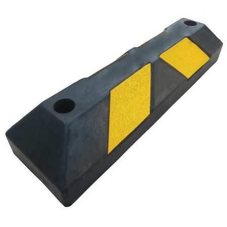 Value Brand Parking Curb 6in.W 4in.H 22in.L Rubber