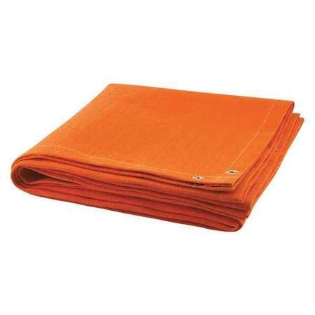 Welding Blanket,6 Ft. W,6 Ft.,orange