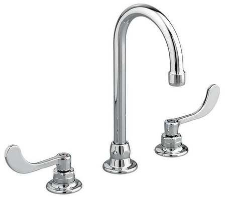 American Standard Rigid Swivel Bathroom Faucet Chrome 3 Holes Ada Compliant