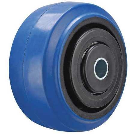 Value Brand Caster Wheel Rubber 4 in. Dia. 400 lb.
