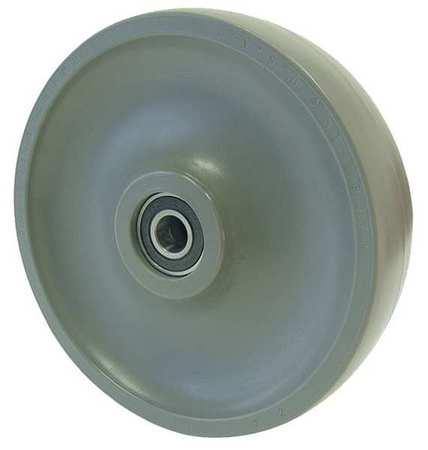 Value Brand Caster Wheel Elastomer 8 in. Dia. 2400lb