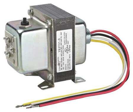 Class 2 Transformer 40VA 24VAC Foot Model Y65T31 0 by USA Johnson Electrical Class 2 Transformers