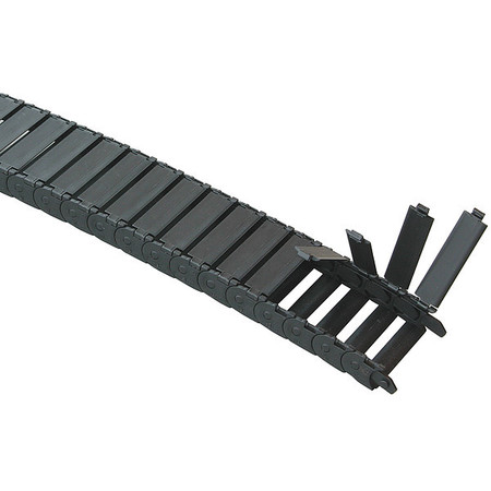 Microtrack(TM) Open Nylon Width 46mm 1Ft by USA Kabelschlepp Electric Cable Carriers