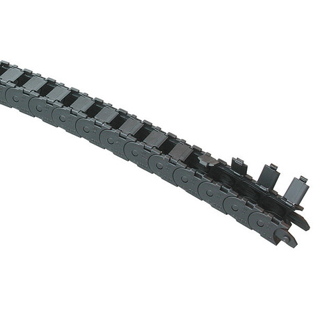 Microtrack(TM) Open Nylon Width 23mm 1Ft Model 0180.15.0281 by USA Kabelschlepp Electric Cable Protectors