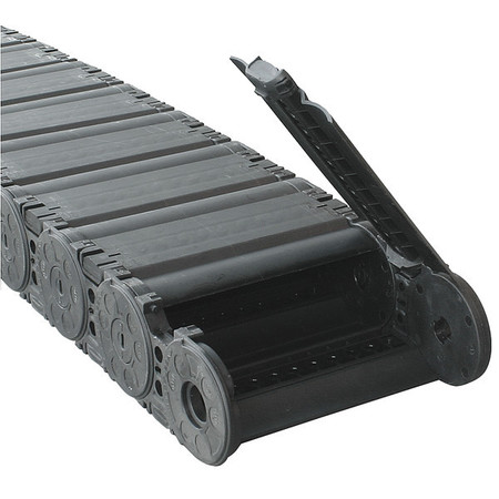 Varitrak(R) NylonTube Width 207mm 1 Ft by USA Kabelschlepp Electric Cable Carriers