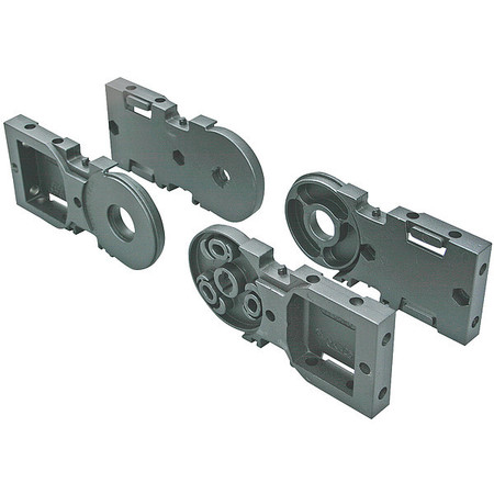 Mtg Bracket Set Open Nylon 155mm by USA Kabelschlepp Electric Cable Carriers