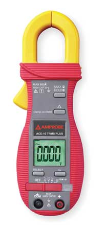 Digital Clamp Meter 40 MOhms 600A by USA Amprobe Electrical Clamp Meters