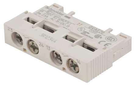 Auxillary Contact by USA Schneider Electrical Motor Auxiliary Contacts