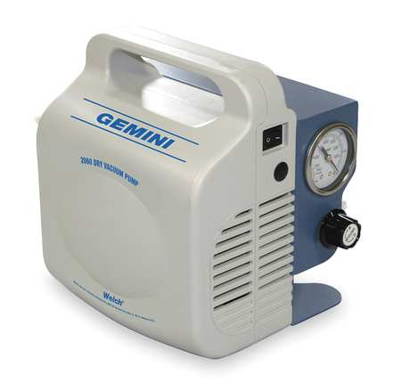 Piston Air Compressor/Vacuum Pump - WELCH