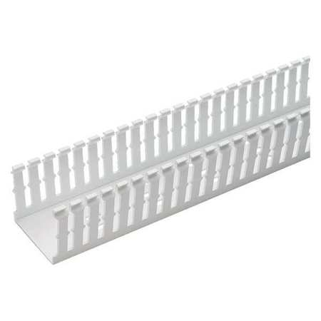 Wire Duct Narrow Slot White 4.25 W x 4 D by USA Panduit Wiring Ducts