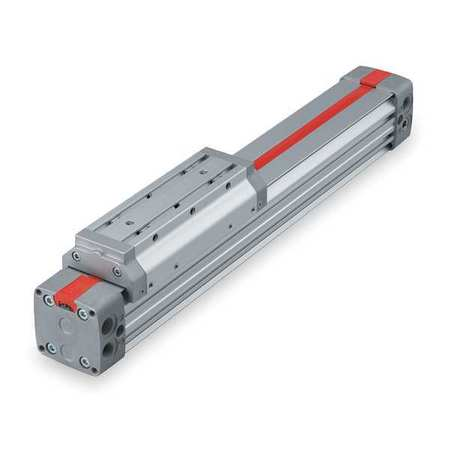 """Speedaire 2 1/2"""" Bore Rodless Double Acting Air Cylinder 69"""" Stroke"""