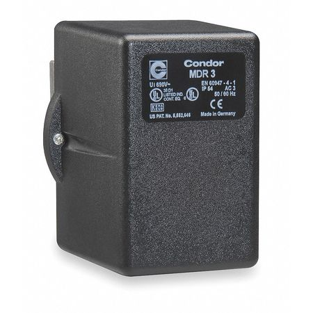 Pressure Switch Diaphrgm 80/100psi 3PST by USA Condor Electrical Pressure Switches