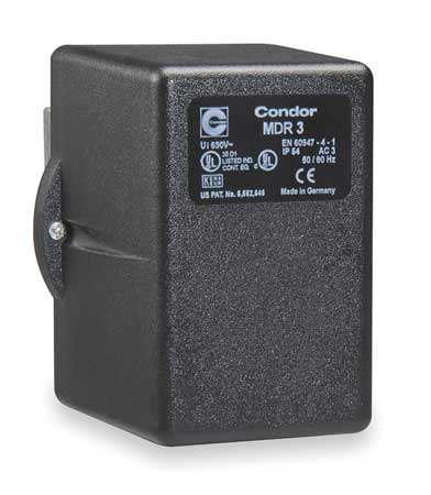 Pressure Switch Diaphragm 45 to 160 psi Model 31GEXEXX by USA Condor Electrical Pressure Switches