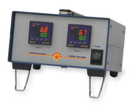 Temp Controller J 2 Zone 120V by USA Tempco Industrial Automation Temperature Controllers