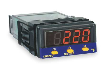 Temp Controller Prog 90 250V 4 20mA by USA Tempco Industrial Automation Temperature Controllers