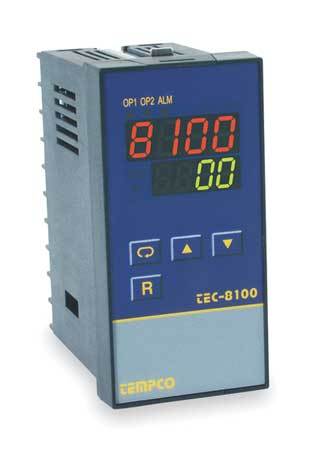 Temp Controller Prog 90 250V Relay2A Model TEC34025 by USA Tempco Industrial Automation Temperature Controllers