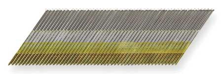 Angled Finish Nail,15ga,1-1/4 In,pk4000