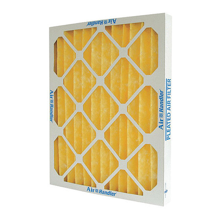 "High Capacity Pleated Air Filters, MERV 8, H 16""-19"""