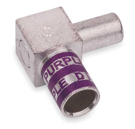 Flag Connector Male 4/0 AWG Purple by USA Thomas & Betts Electrical Wire Motor Lead Disconnects