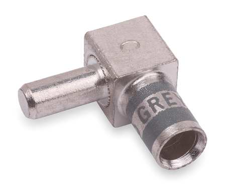 Flag Connector Male 4 AWG Gray by USA Thomas & Betts Electrical Wire Motor Lead Disconnects
