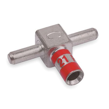 Tee Connector Male 8 AWG Red by USA Thomas & Betts Electrical Wire Motor Lead Disconnects