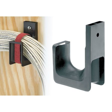 J Hook Wall Mount 1.31 In PK10 by USA Panduit Electric Cable Supports