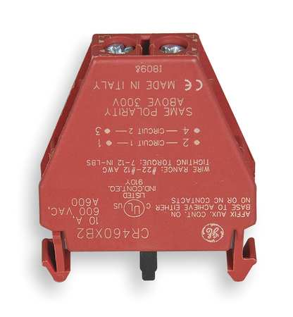 Lighting Contactor Aux Contact Block 2P by USA GE Electrical Motor Auxiliary Contacts