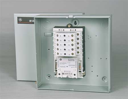 Lighting Contactr 10P 277V NEMA1 ElecHld by USA GE Electrical Motor Magnetic Contactors