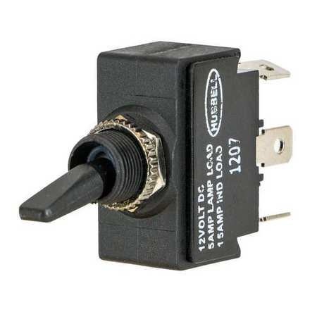 Marine Toggle Switch DPDT 1/4 in. Solder by USA Hubbell Kellems Electrical Toggle Switches