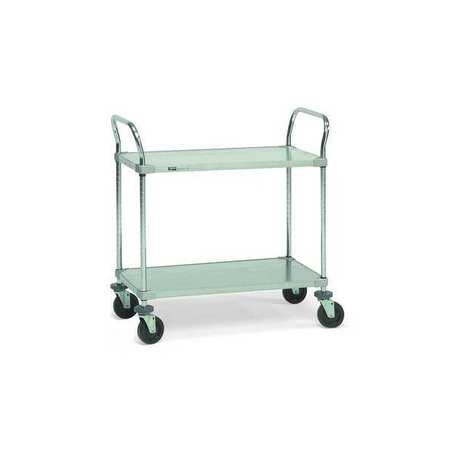 Value Brand Utility Cart Steel 48 Lx24 W 600 lb Cap.