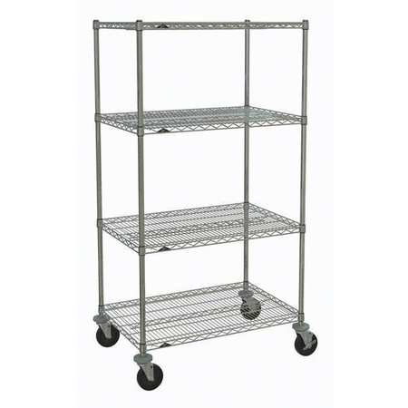 Metro Wire Cart 24 In. W 36 In. L Wire Type PK1052