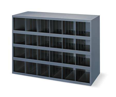 durham bin unit 72 bins 33 3 4 x 12 x 42 in 363 95. Black Bedroom Furniture Sets. Home Design Ideas