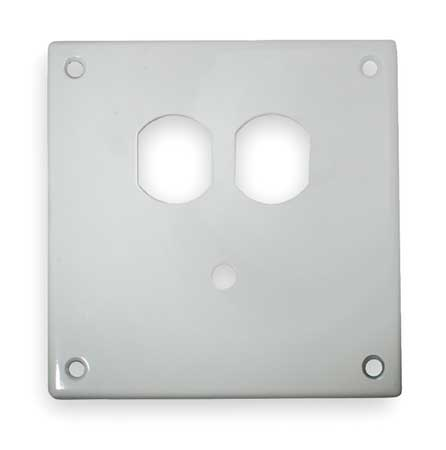Security Wall Plate White by USA Hubbell Kellems Electrical Wall Plates