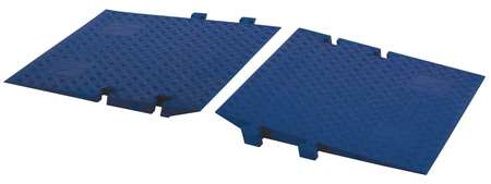 ADA Access Ramp Blue 3 ft. PR by USA Value Brand Electric Cable Protectors