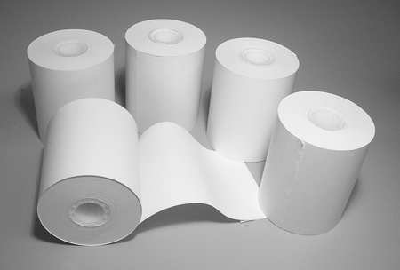 Printer Paper,Rolls,PK5 -  BACHARACH, 24-0980