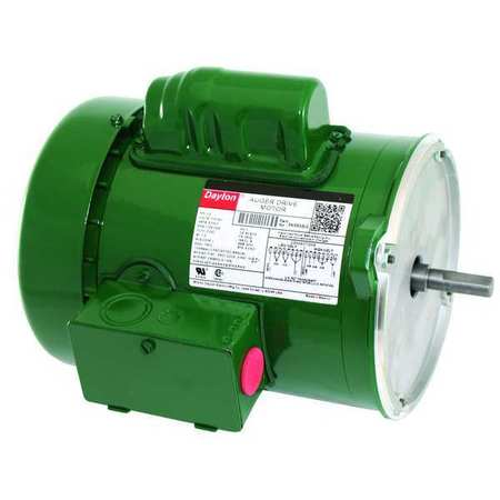 Farm Dty Mtr CapStrt TEFC 1/2hp 1725rpm by USA Dayton AC Farm Duty Motors