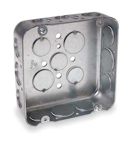 Electrical Box Square 4 11/16 in. by USA Raco Electrical Boxes